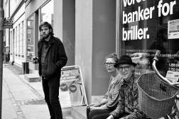 Nils Lass, Susanne Larsen and Daniel Boysen at Cross Eyes - Århus, Danmark