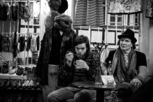 Nils Lass and the nice hat man at SoulShine - Århus, Danmark