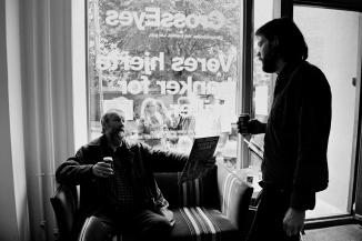 Torben and Nils Lass Rasmussen at Cross Eyes - Århus, Danmark