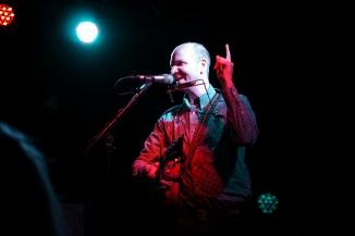 Barton Carroll opened the concert for Mudhoney at Radar - Århus, Danmark. 10/05/2015