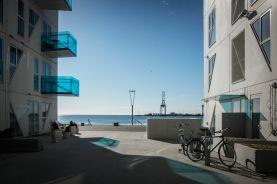 """""""Isbjerget"""" at Aarhus harbour."""